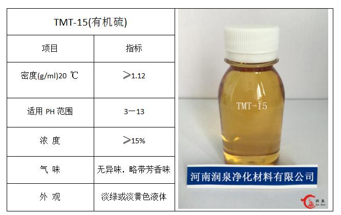 有机硫技术指标