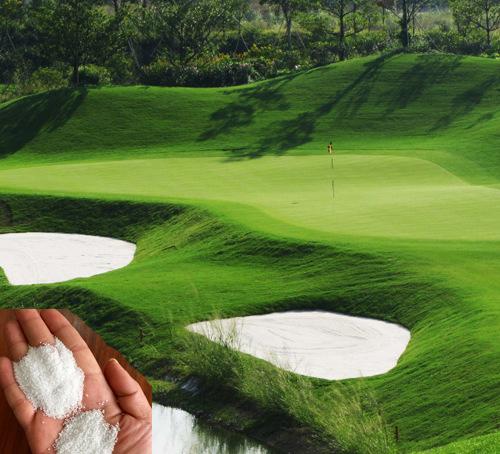 高尔夫球场用石英砂